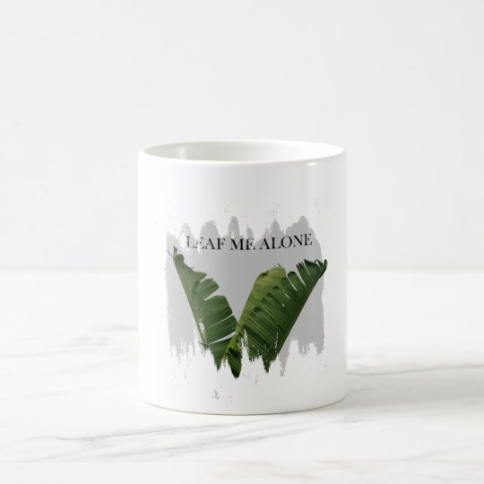 Leaf Me Alone Coffee Mug