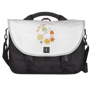 Leaf Me Alone Laptop Computer Bag