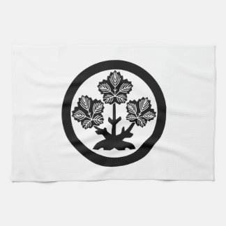 Leaf of Suwa rudder Tea Towel