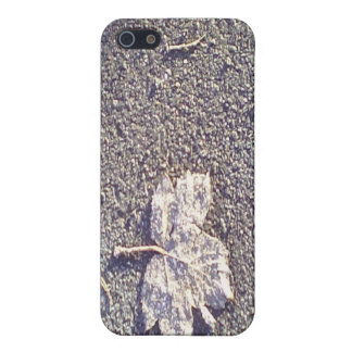 Leaf on the road case for the iPhone 5