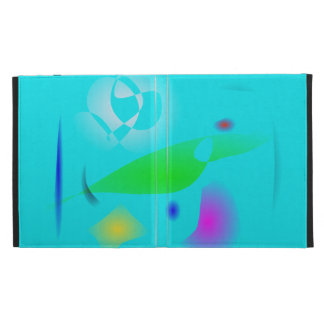 Leaf on the Water Particles iPad Folio Case