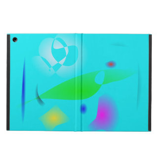 Leaf on the Water Particles iPad Air Cover