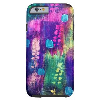 leaf paint tough iPhone 6 case