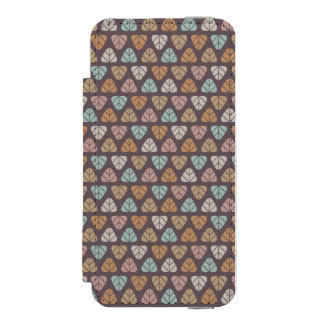 Leaf pattern 2 incipio watson™ iPhone 5 wallet case