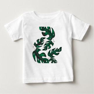 leaf pattern baby T-Shirt