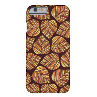 Leaf pattern barely there iPhone 6 case