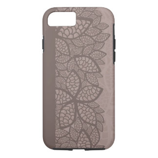 Leaf pattern border and background iPhone 8/7 case