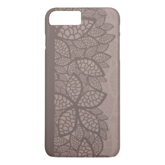 Leaf pattern border and background iPhone 8 plus/7 plus case
