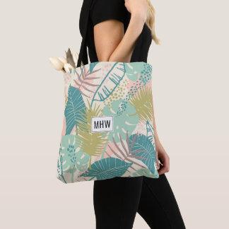 Leaf Pattern custom monogram bags