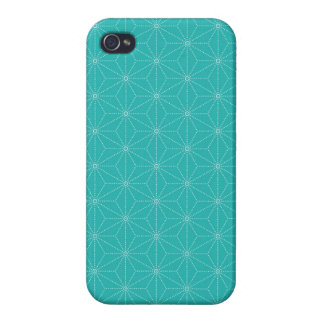 Leaf pattern Japan of the Japanese traditional pat Covers For iPhone 4