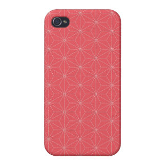 Leaf pattern Japan of the Japanese traditional pat Cases For iPhone 4