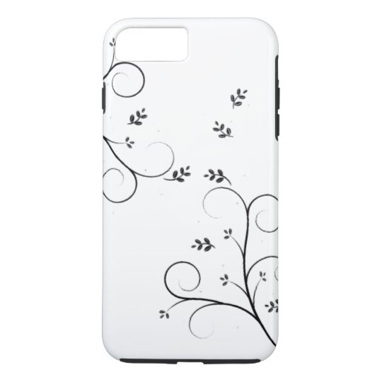 Leaf Pattern Phone Case.. iPhone 8 Plus/7 Plus Case