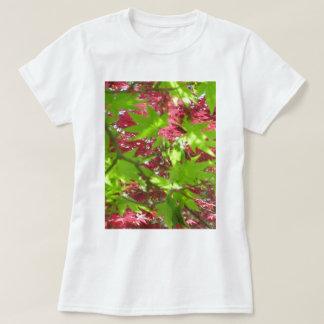 Leaf Pattern T-Shirt