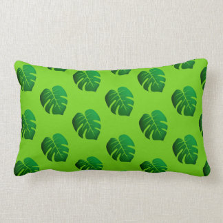 leaf patterns lumbar cushion
