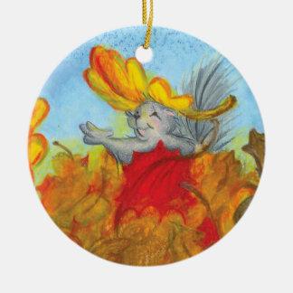 Leaf Pile Toss Up / Ornament