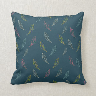 Leaf pillow. cushion