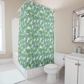 leaf, plant, palm, green, Shower Curtain