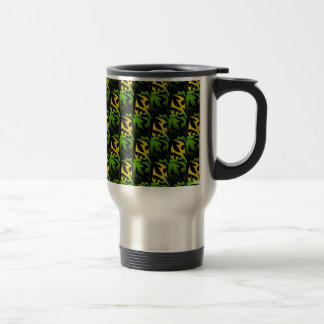Leaf Shadow Stainless Steel Travel Mug