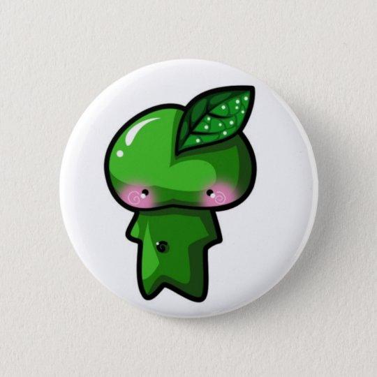 Leaf Sprite 6 Cm Round Badge