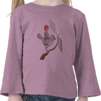 Leaf Sprite Rides a Sparrow Tshirt