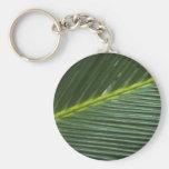 Leaf texture key chains