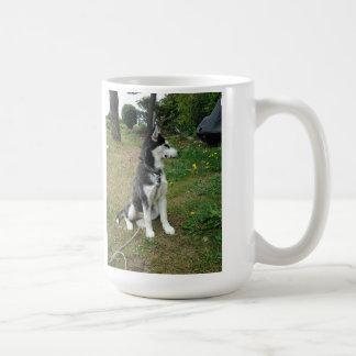Leaf Theif Basic White Mug