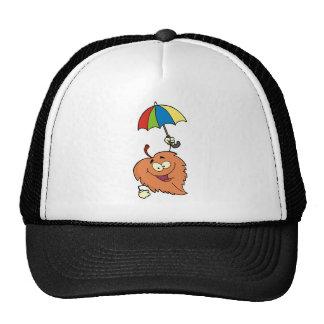 Leaf With Umbrella Mesh Hats