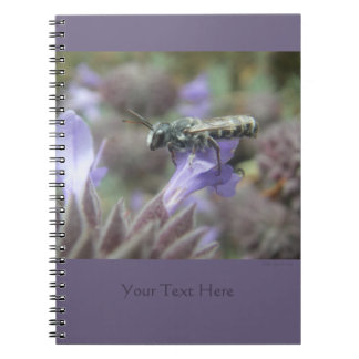 Leafcutter Bee Spiral Notebook 2