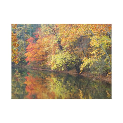 LEAFLECTION Gallery Wrapped CANVAS ! Large 36 x 24