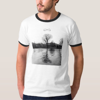 Leafless Tree Reflection T-Shirt