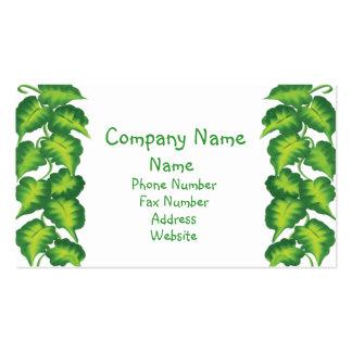 Leafy Business Card