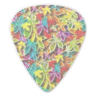 Leafy Design Guitar Pick