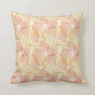 Leafy fall American MoJo Pillow Throw Cushion