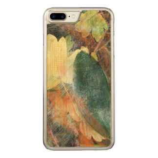 Leafy Grunge Autumn Colors and Textures Carved iPhone 7 Plus Case
