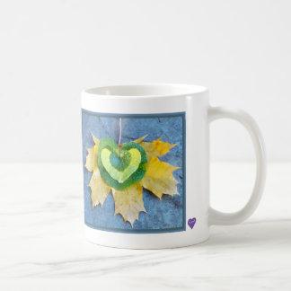 Leafy Heart Mug