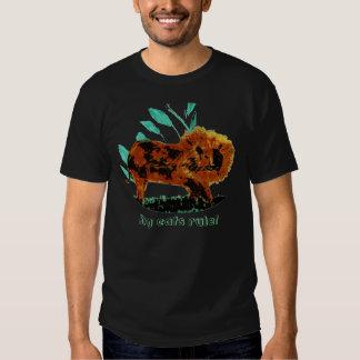 Leafy Lion Wild Animal illustration Tee Shirt