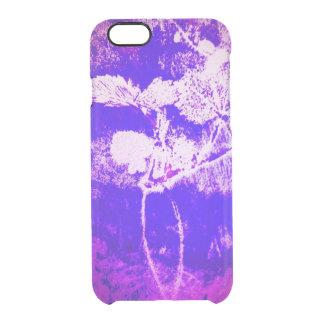 leafy phone case in purple