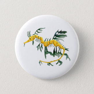 Leafy Sea Dragon 6 Cm Round Badge