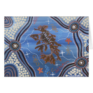 Leafy Sea Dragon Dreaming II Card