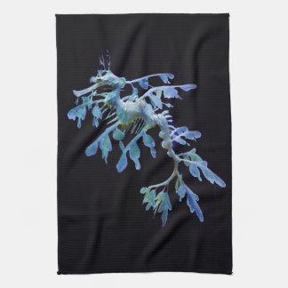 Leafy Sea Dragon Kitchen Towel