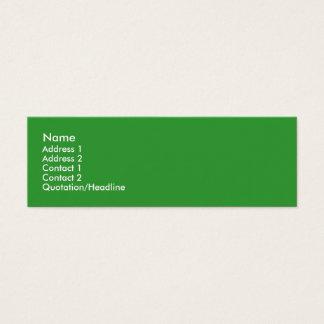 Leafy Treehugger Skinny Profile Cards