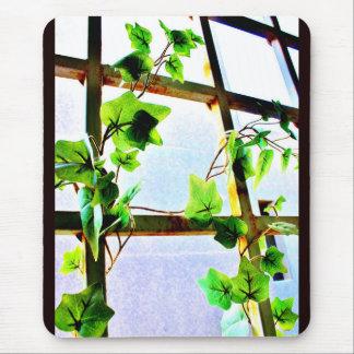 Leafy Window Mouse Mat