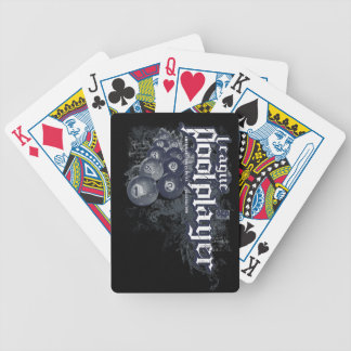 League Pool Player Bicycle Playing Cards