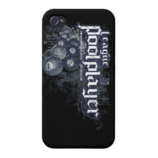 League Pool Player Case For The iPhone 4
