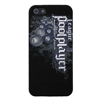 League Pool Player iPhone 5 Cover