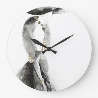 Leah no.2 large clock
