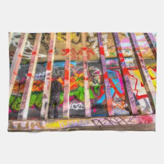 Leake Street Graffiti Artist Tea Towel