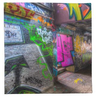 Leake Street London Graffiti Napkin
