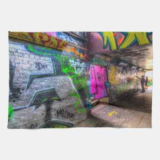 Leake Street London Graffiti Tea Towel