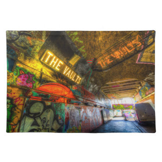 Leake Street London Vault Placemat